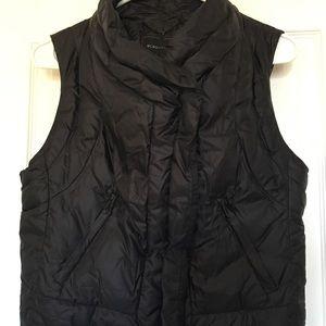 BCBG Black Vest - pristine condition!